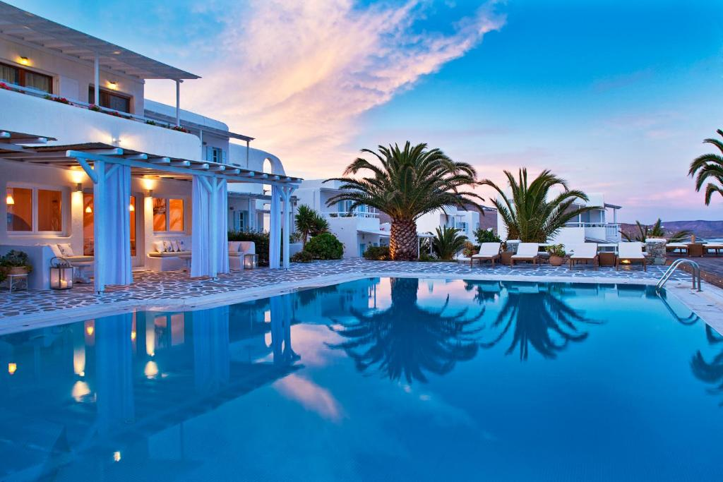 The swimming pool at or near Anemoessa Mykonos