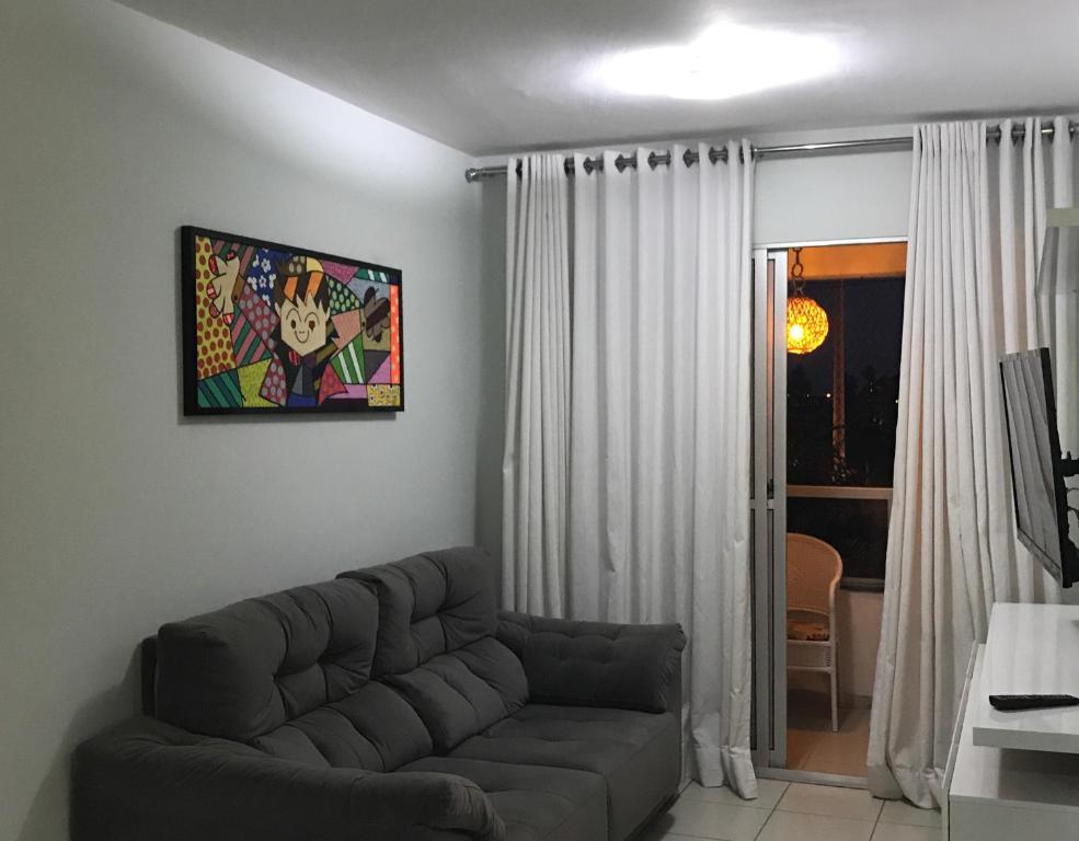 Zona de estar de Apartamento Aracaju