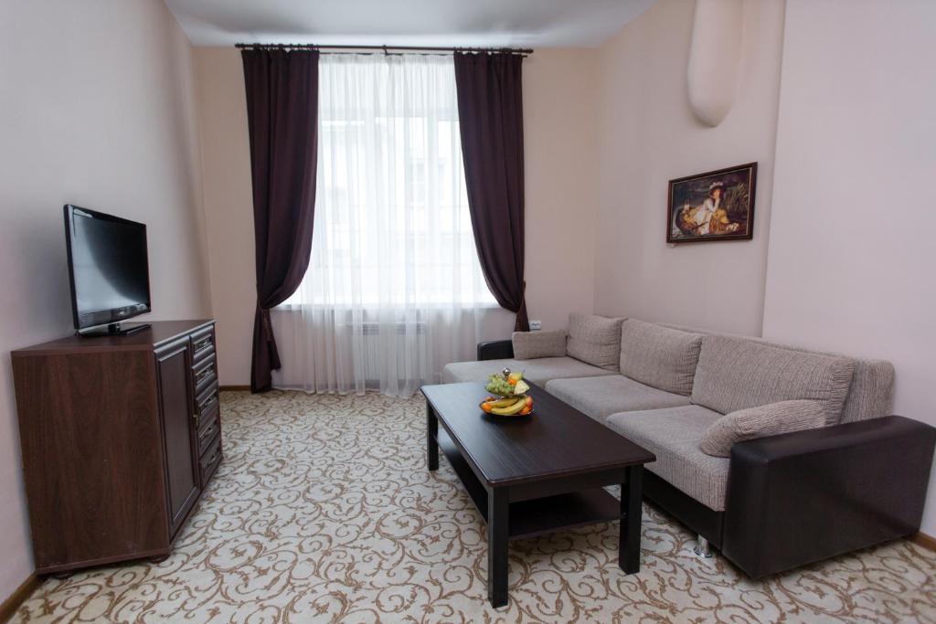 Гостиная зона в Отель Матрешка