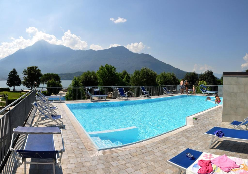 The swimming pool at or near Camping Villaggio Paradiso