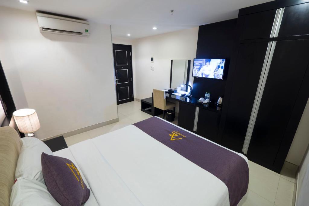 Phòng Deluxe Giường Đôi Không có Cửa sổ