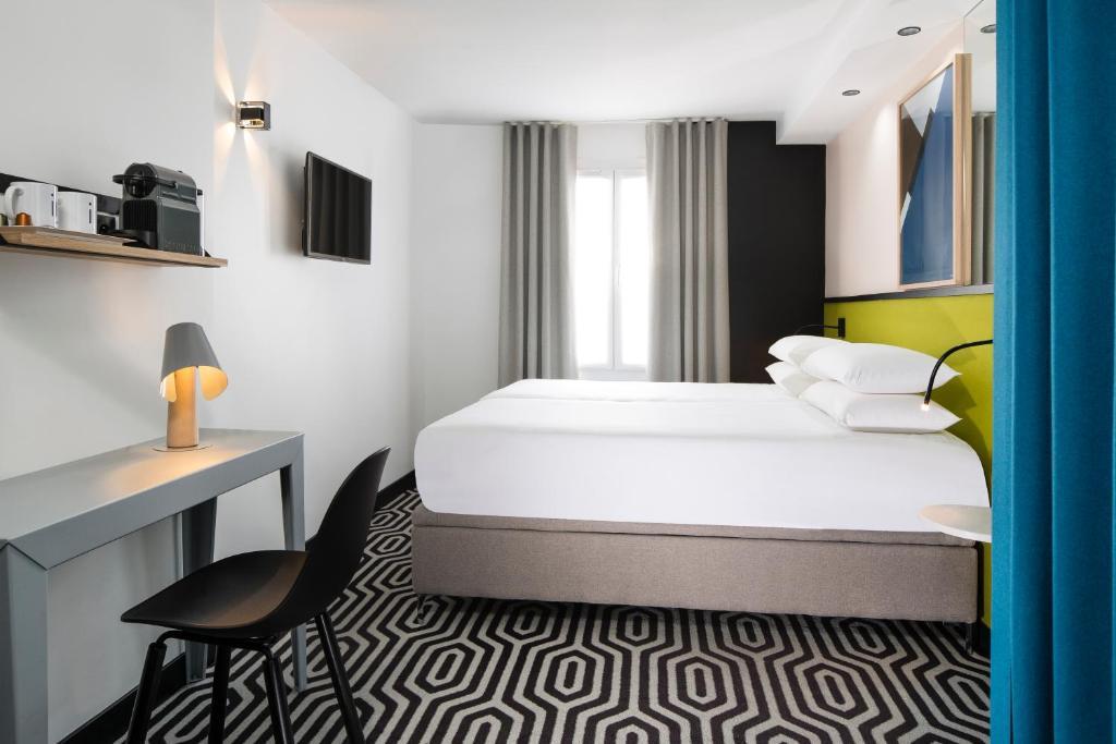 Posteľ alebo postele v izbe v ubytovaní Hotel Pilime
