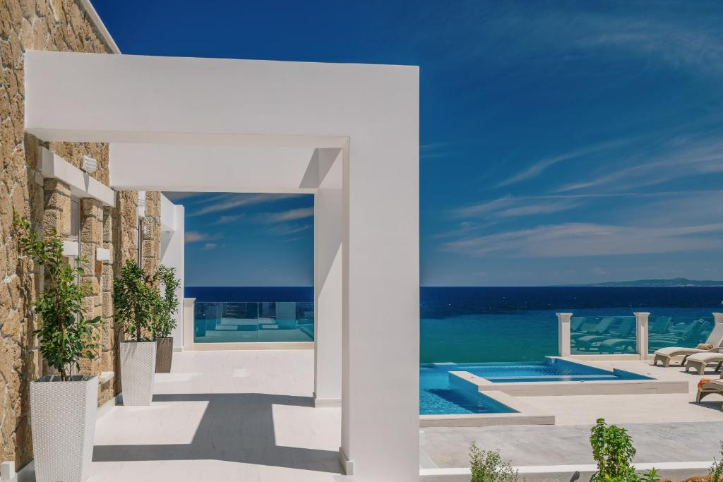 The swimming pool at or near Tambouros Boutique Villas
