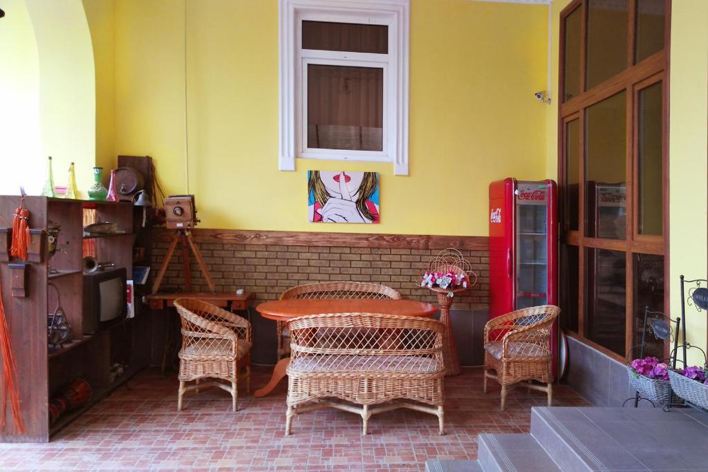 Гостиная зона в Гостевой дом Рафаэль
