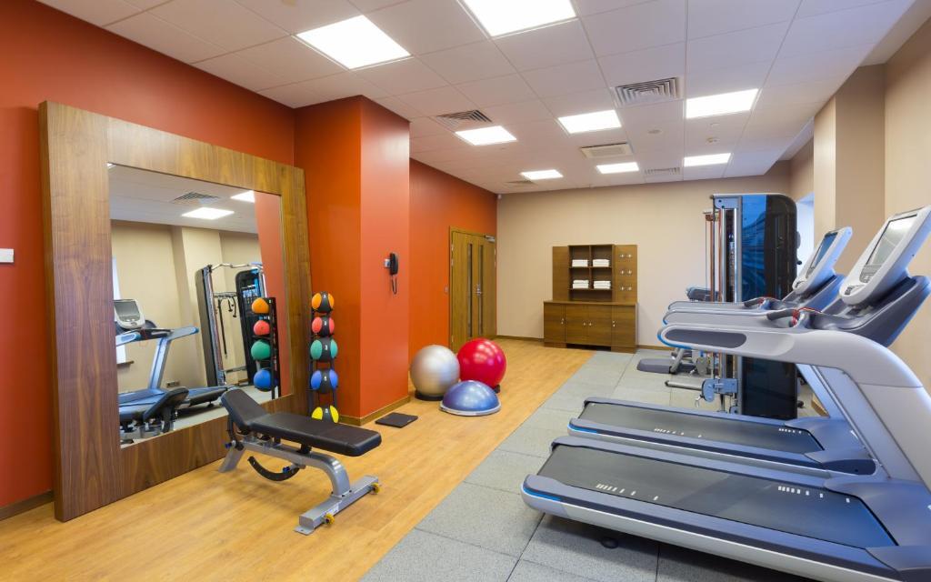 Фитнес-центр и/или тренажеры в Hilton Garden Inn Volgograd