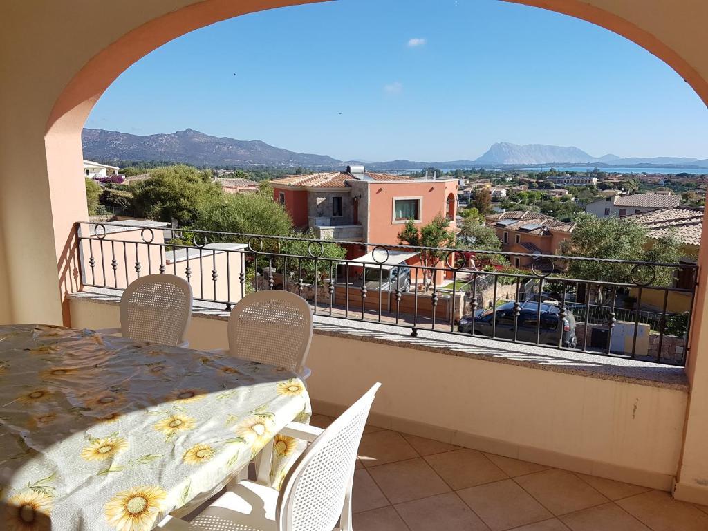 A balcony or terrace at Citai con splendida vista mare