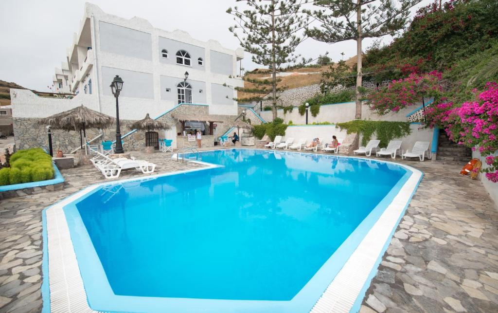 The swimming pool at or close to Porto Castello