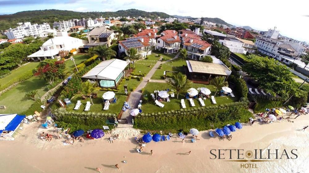 A bird's-eye view of Hotel Sete Ilhas