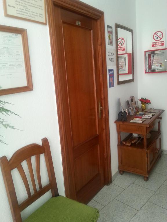 Zona de estar de Pensión Ciudad Navarro Ramos