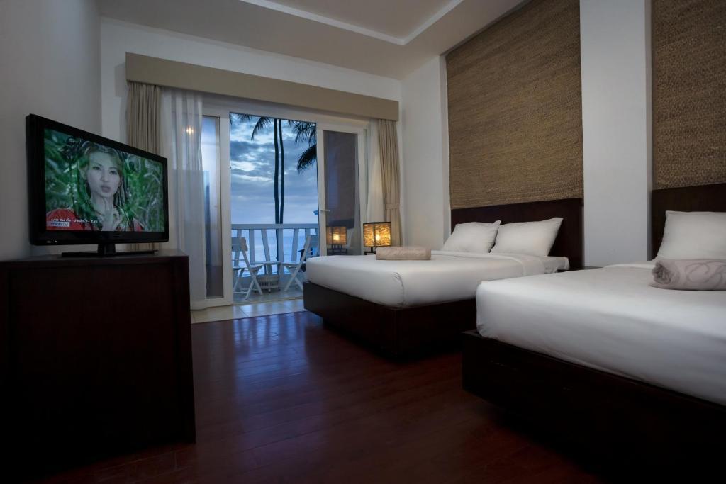 Phòng Superior với 2 Giường đôi Nhìn ra Biển