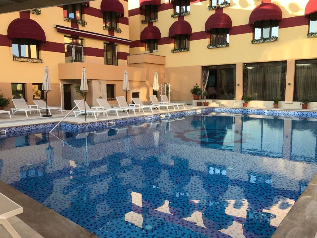 The swimming pool at or near Boutique Family Hotel VSK Kentavar