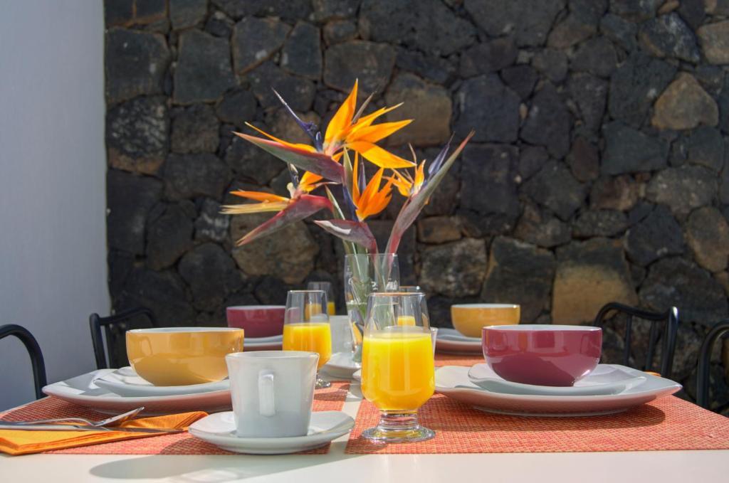 Colazione disponibile per gli ospiti di Oasis de Nazaret