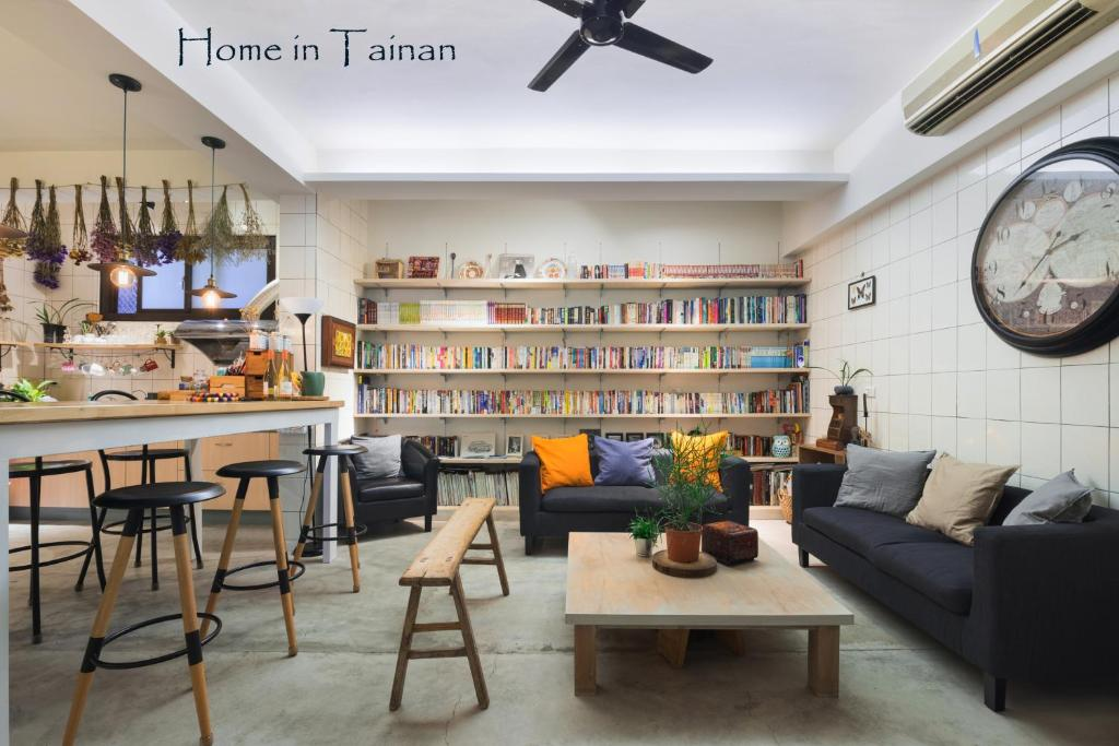 The library in the homestay