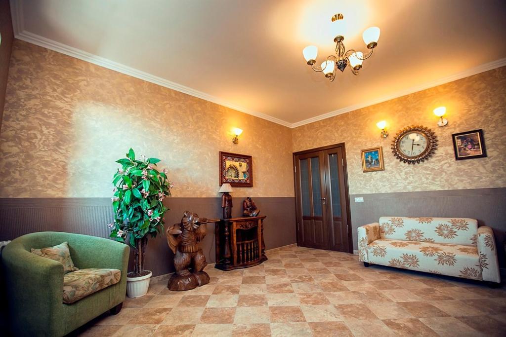 Гостиная зона в Guest House Azovsky Bereg