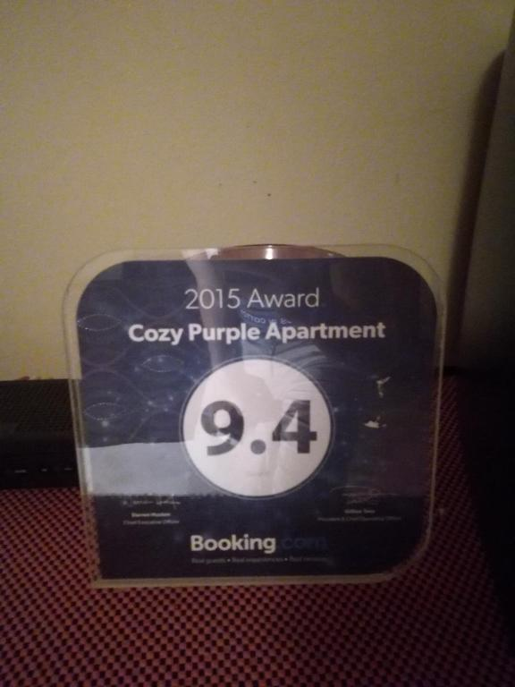 Cozy Purple Apartment