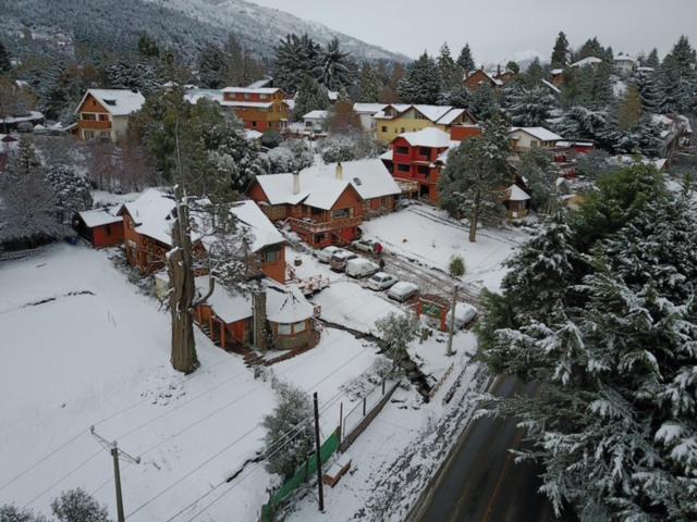 Una vista aérea de Apart Hotel Del Arroyo