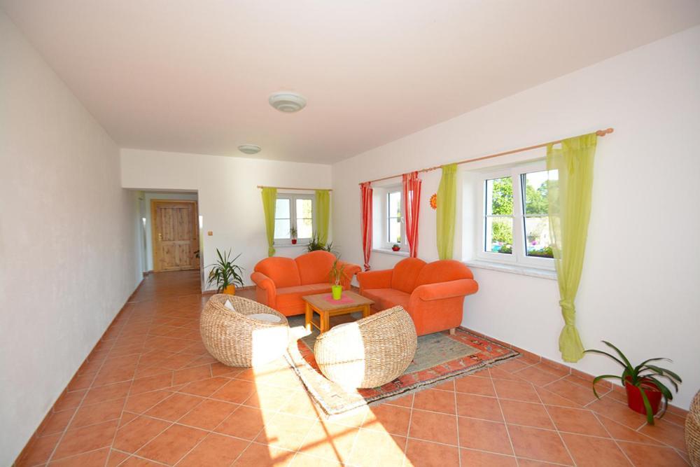 Posezení v ubytování Penzion Dombovari