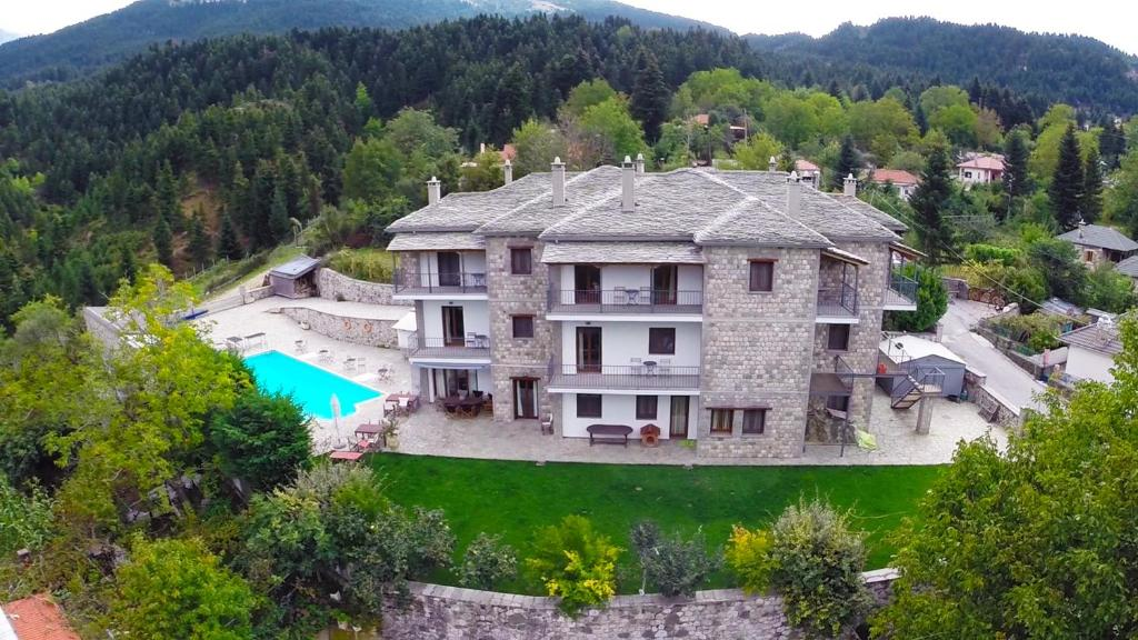 A bird's-eye view of Hotel Xenion tou Georgiou Merantza