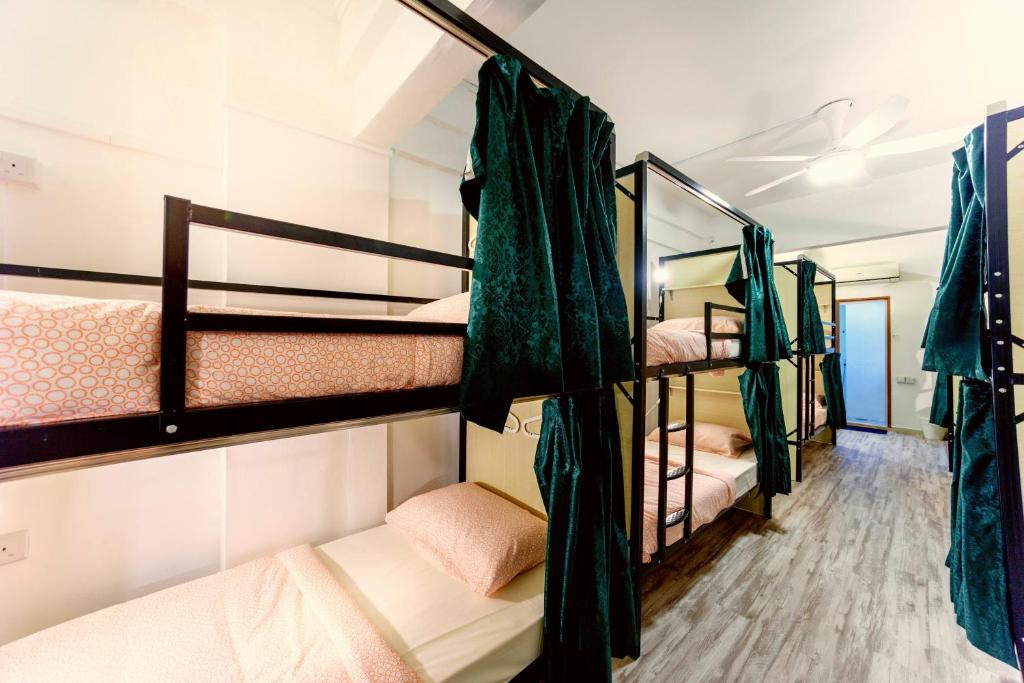 A bunk bed or bunk beds in a room at Lodge41