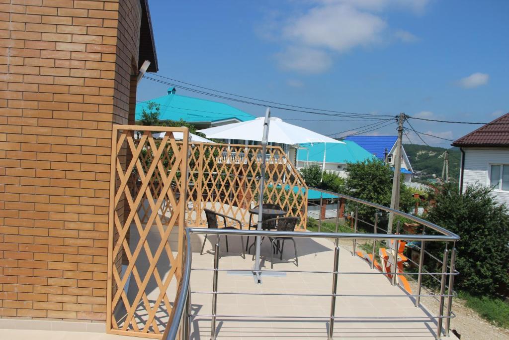 A balcony or terrace at Leto Hotel
