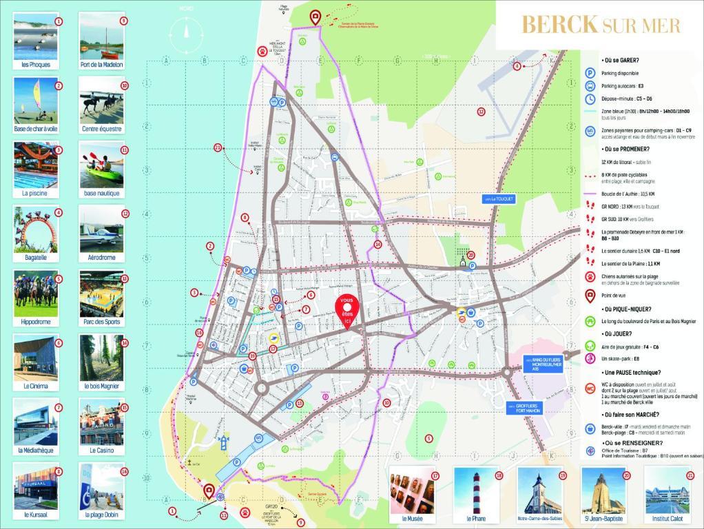 berck sur mer carte Apartment L'Enoreva 1, Berck sur Mer, France   Booking.com