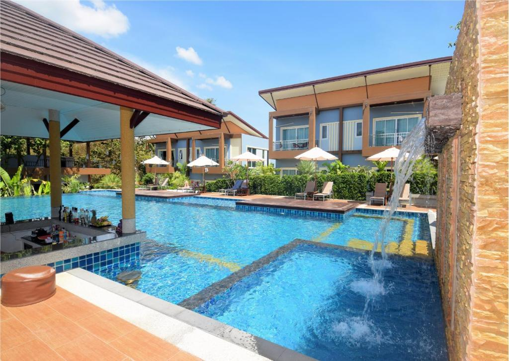 The swimming pool at or near Phutara Lanta Resort - Koh Lanta