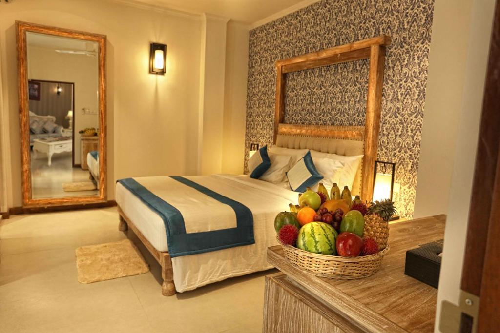 Un ou plusieurs lits dans un hébergement de l'établissement Rivora Residence
