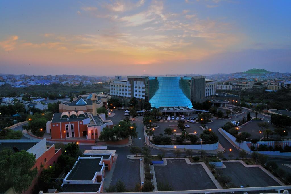 منظر فندق قصر ابها من الأعلى