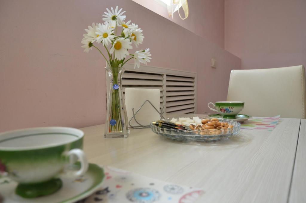Breakfast options available to guests at Guest House u Mariny
