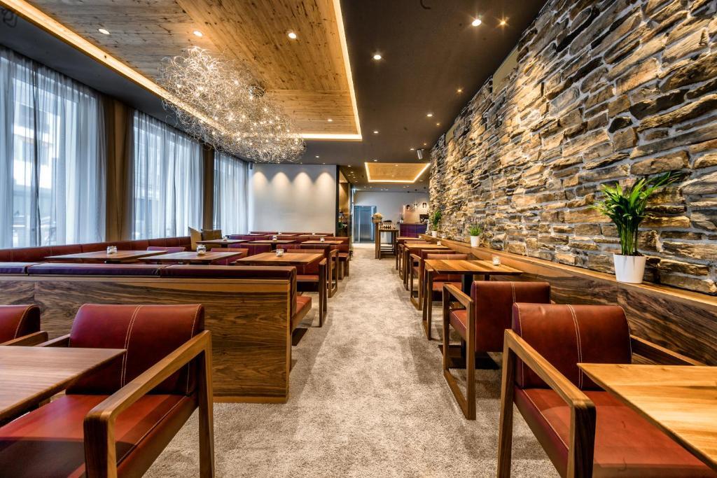 Ein Restaurant oder anderes Speiselokal in der Unterkunft Lai Lifestyle Hotel