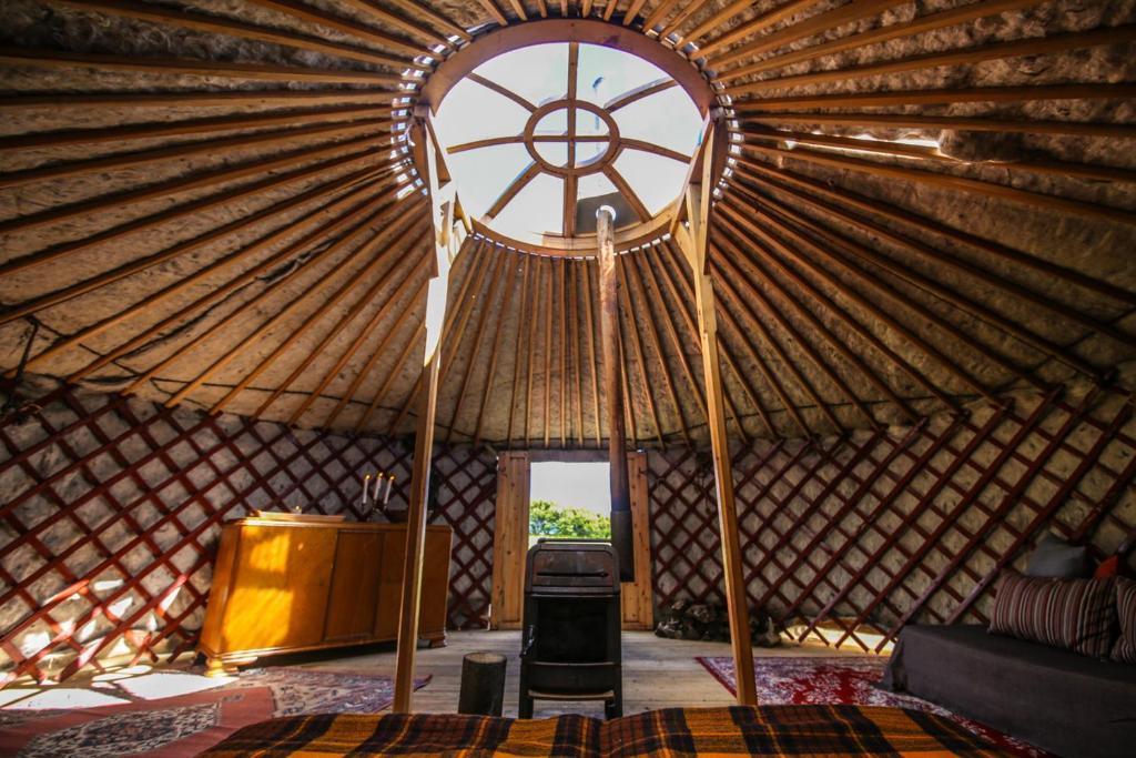 Traustholtshólmi - Yurt on a Private Island, Selfoss