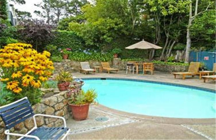 The swimming pool at or near Normandy Inn