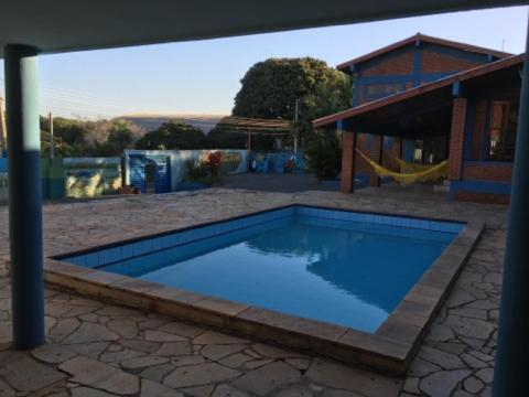 The swimming pool at or near Hostel Campo Grande