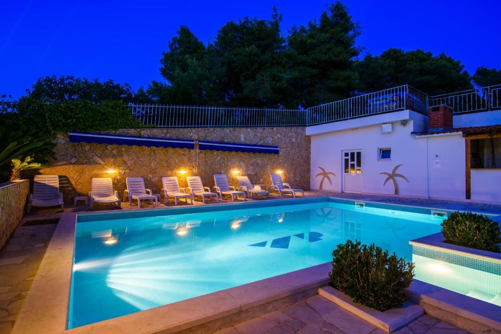 The swimming pool at or near B&B Villa Paula
