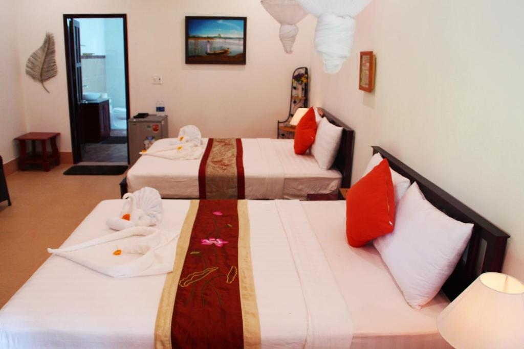 Suite với 2 Giường Đôi