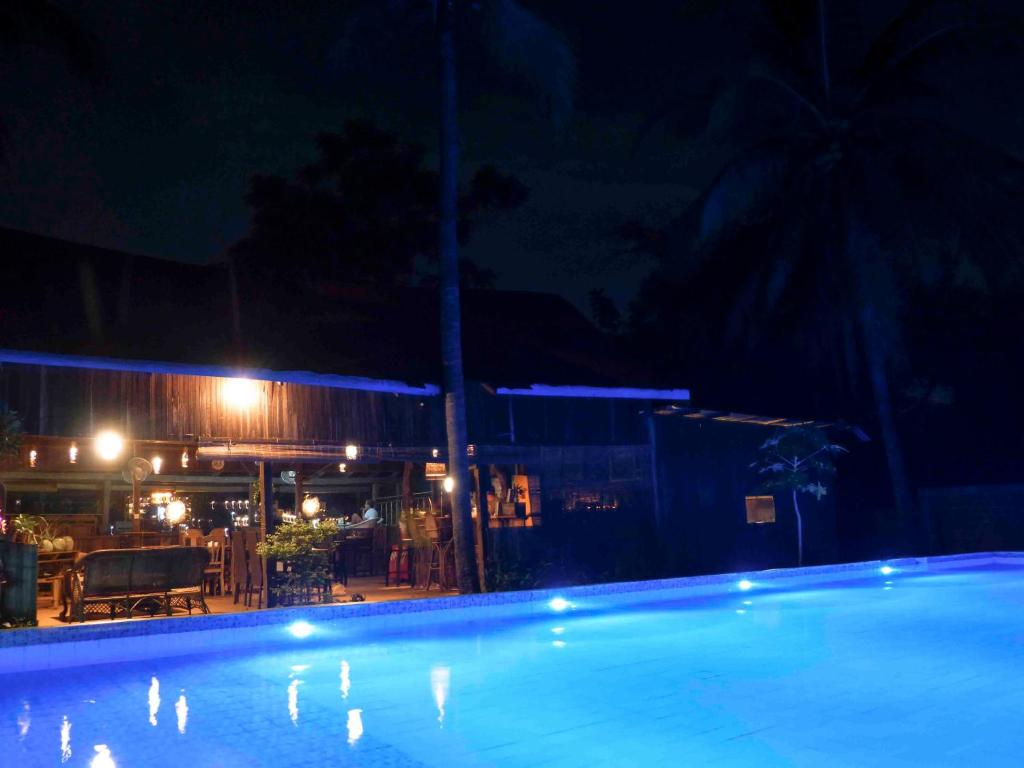 The swimming pool at or near Banlung Balcony Chill out Bar