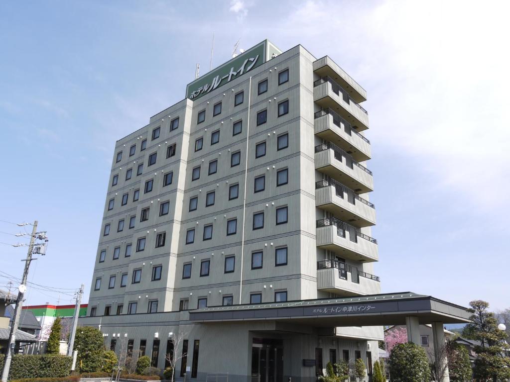 O edifício onde o hotel económico está situado
