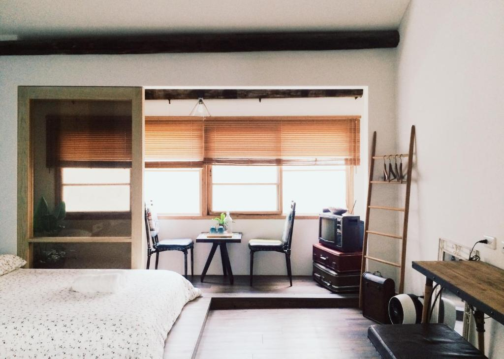 A television and/or entertainment center at XiaoBei Home (Entire house for rent)