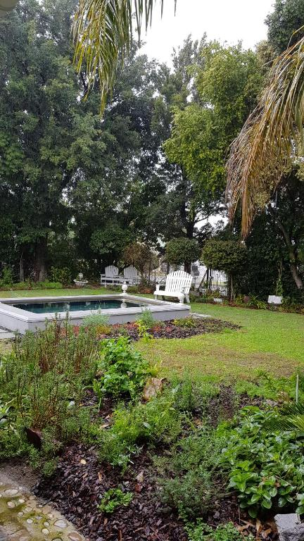 A garden outside Afrika-Pearl