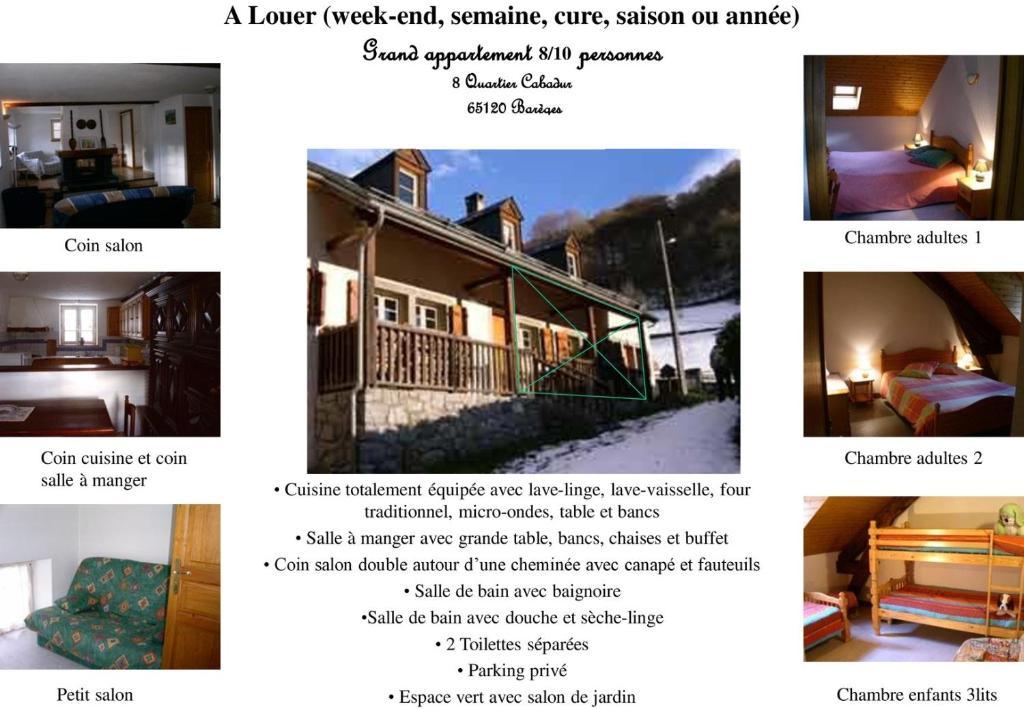 Ferienhaus Bareges Louisette (Frankreich Barèges) - Booking.com