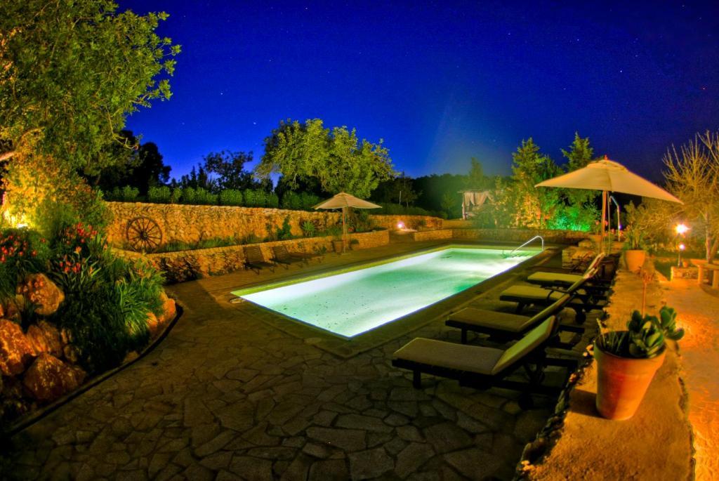 The swimming pool at or near Holiday Villa Casa Calma Ibiza