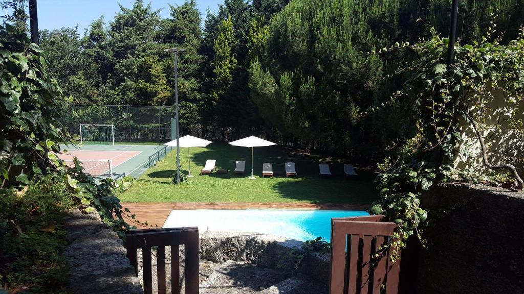 The swimming pool at or near Baiona Guesthouse