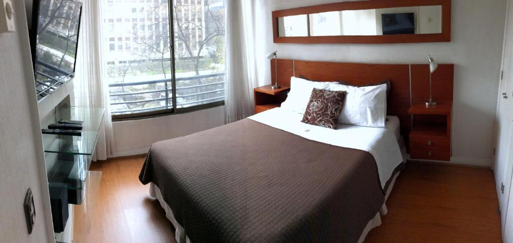 Cama o camas de una habitación en Brizen Apartments