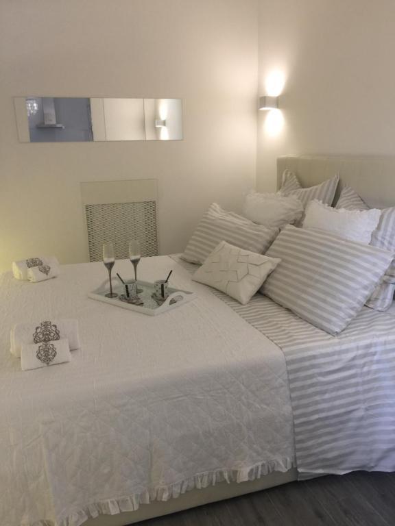 Cama o camas de una habitación en Ciak Holiday House