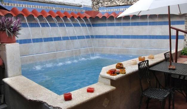 The swimming pool at or near Casa Marta Cartagena