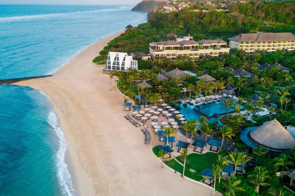 A bird's-eye view of The Ritz-Carlton Bali