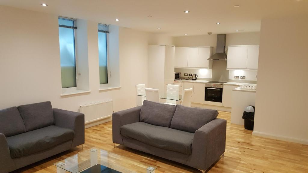 A seating area at Emerald House