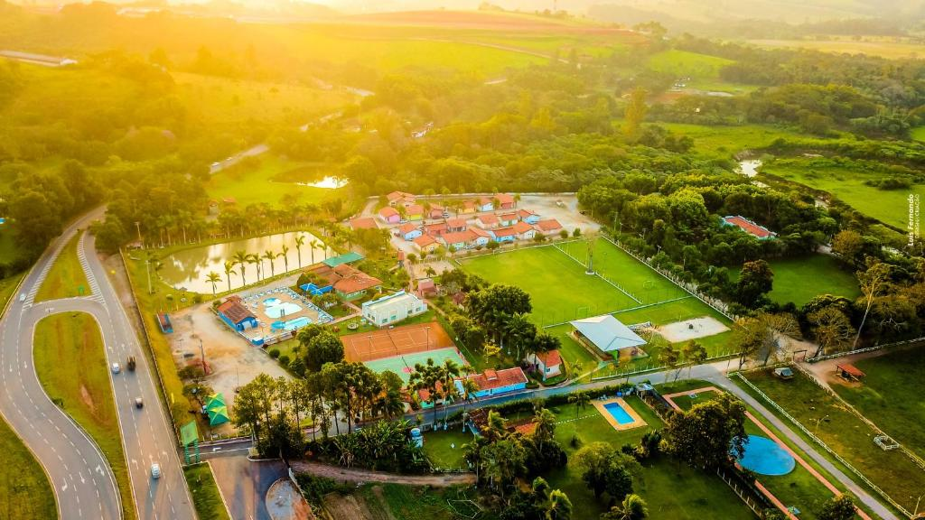 A bird's-eye view of Hotel Fazenda 7 Belo