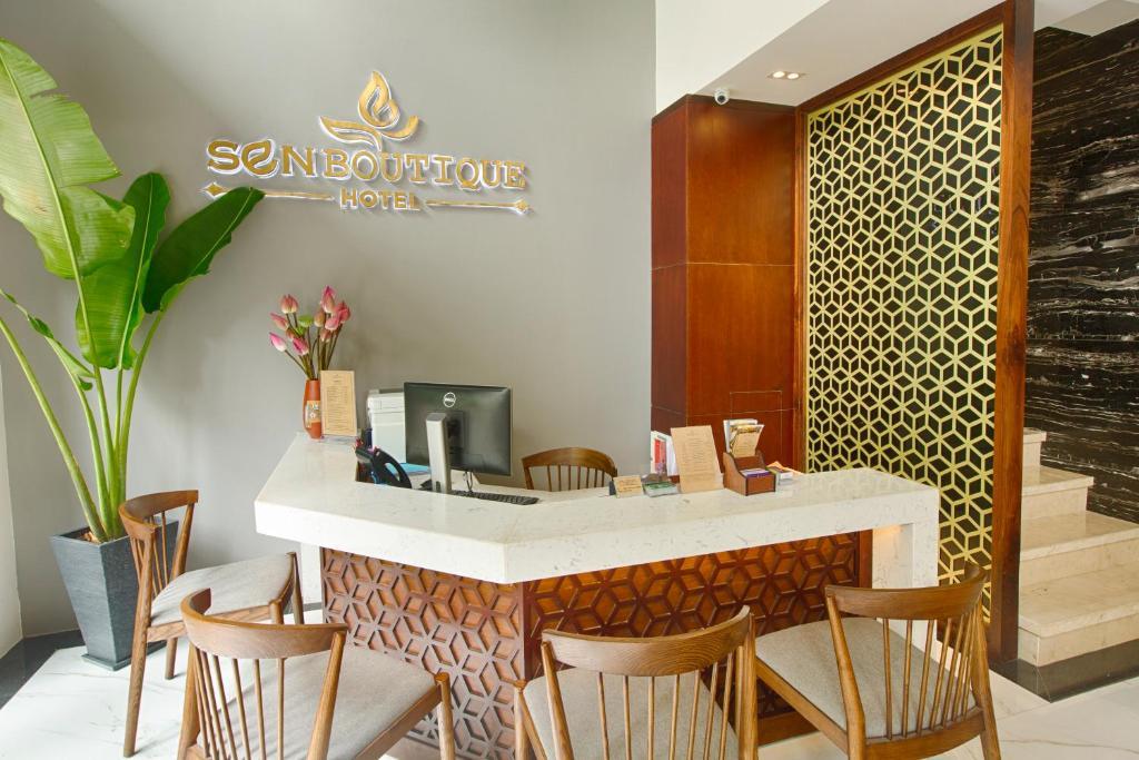 Nhà hàng/khu ăn uống khác tại Sen Boutique Hotel
