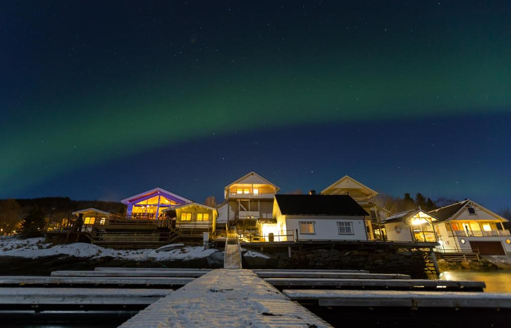Furoy Fishingcamp and Hotel Apartments during the winter